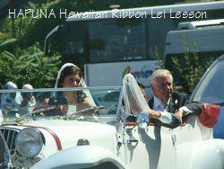 花嫁も渋滞