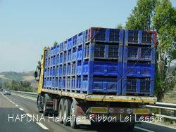 トマト満載トラック